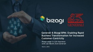 Generali Gartner BTPM Summit Presentation